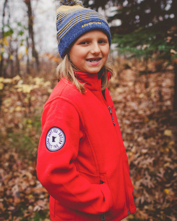 ANMN Kids Fleece Jacket