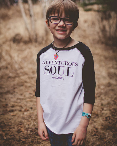 Adventurous Soul Kids Raglan