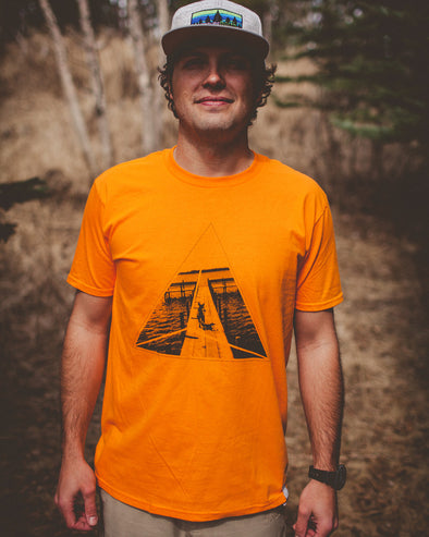 Alex M. T-shirt - Orange