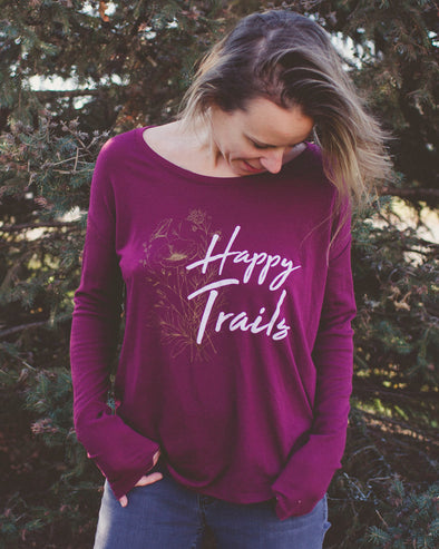 Women's Happy Trails Scoopneck