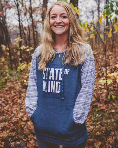 State of Mind T-Shirt Hoodie