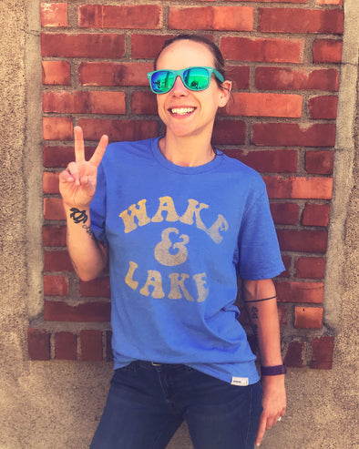 Wake & Lake T-shirt