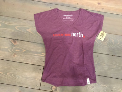 ANMN Ladies V-neck Purple