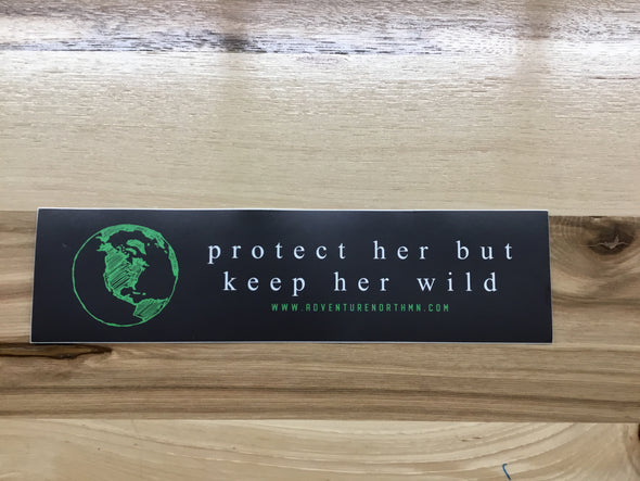 Keep Her Wild - Bumper Sticker