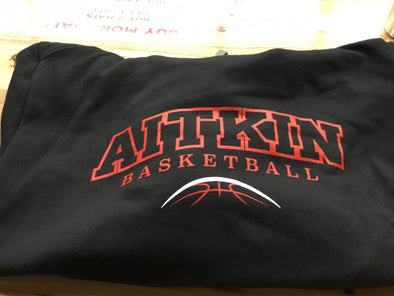 Aitkin Basketball Hoodie