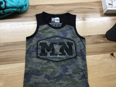 Youth MN hex camo tank