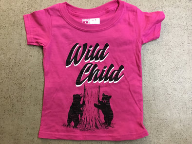 Wild Child Toddler T-Shirt PINK