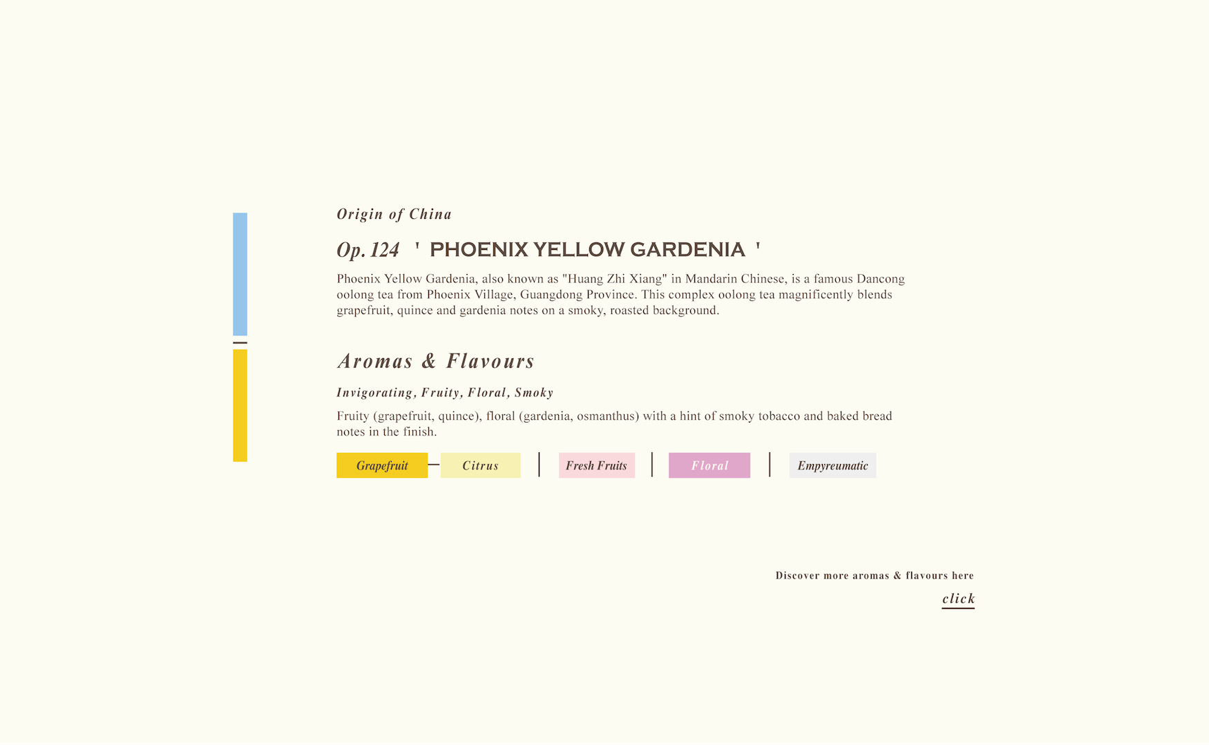 Phoenix Yellow Gardenia Loose Oolong Tea