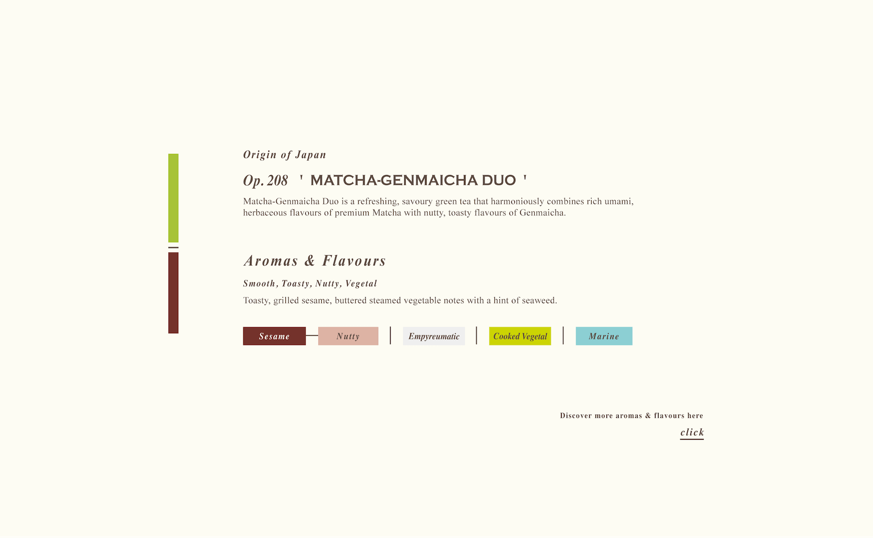 Matcha Genmaicha Duo Loose Green Tea