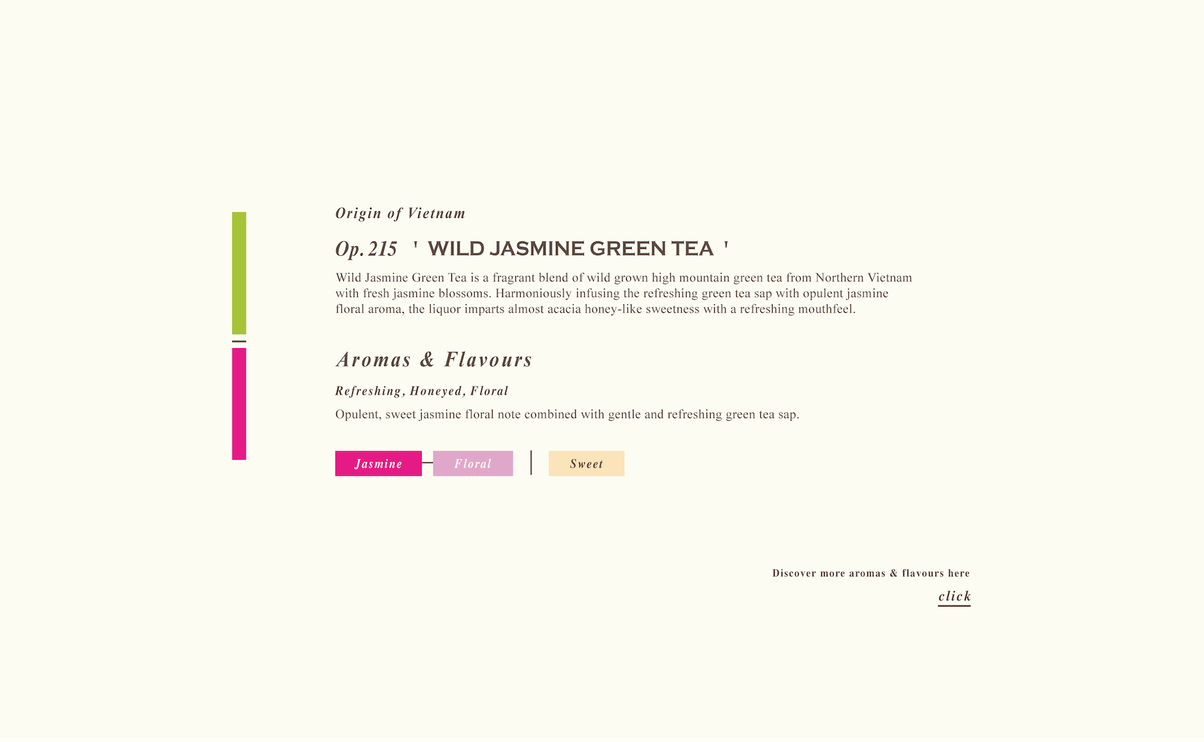 Wild Jasmine Green Tea Loose Green Tea