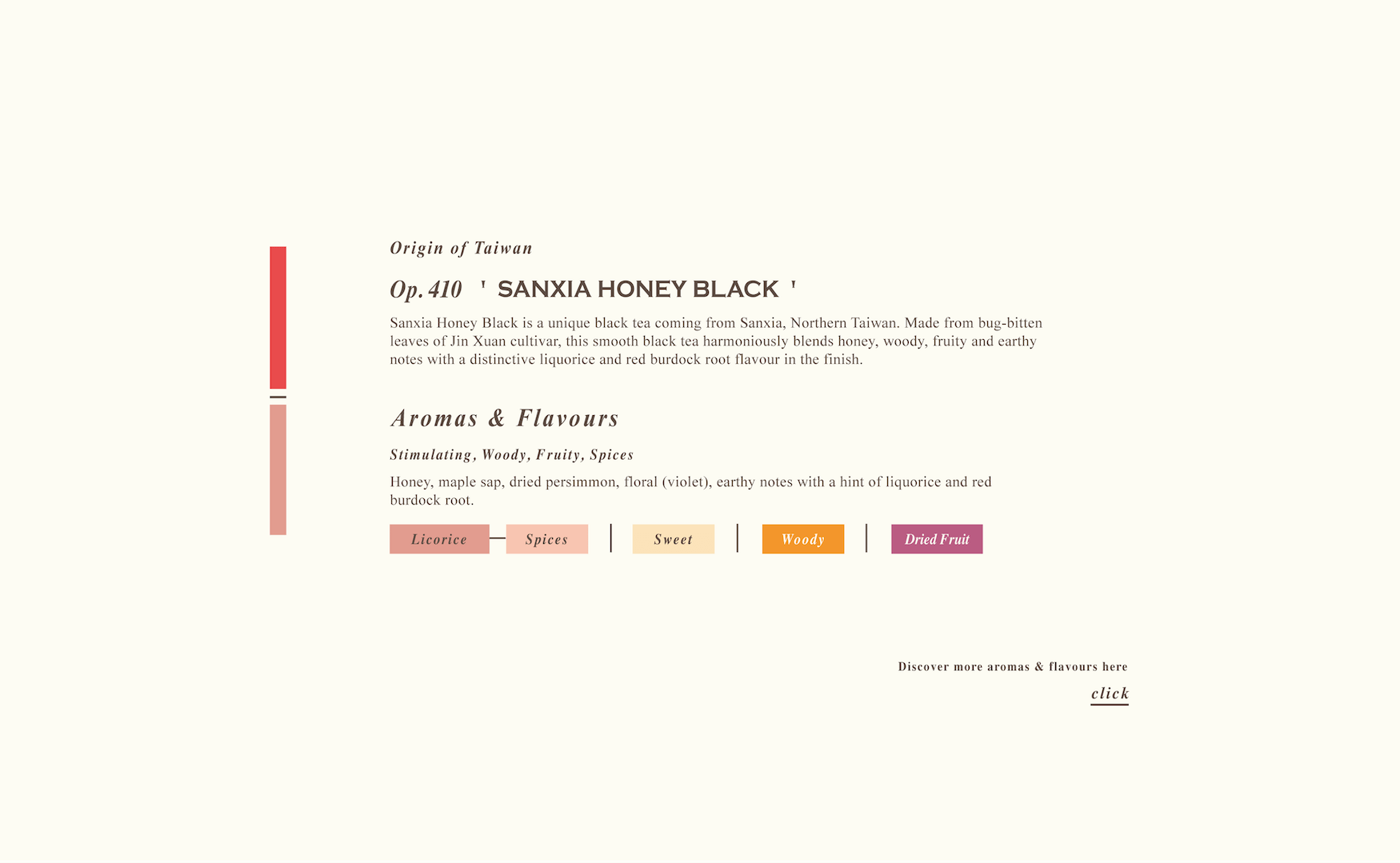 Sanxia Honey Black Loose Black Tea
