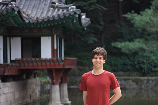 Pierre-Pascal from Tea Repertoire, Secret Garden in Changdeokgung, South Korea