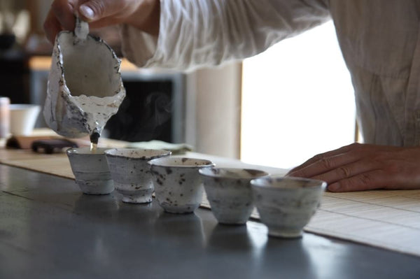Serving Tea with GiJin Song Ceramics