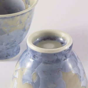 BLUE FLOWER CRYSTAL HOHIN SET (BLUE) FROM TEA REPERTOIRE