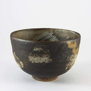 Chawan JAPANESE LONGEVITY SYMBOL MOTIF MATCHA BOWL from Tea Repertoire