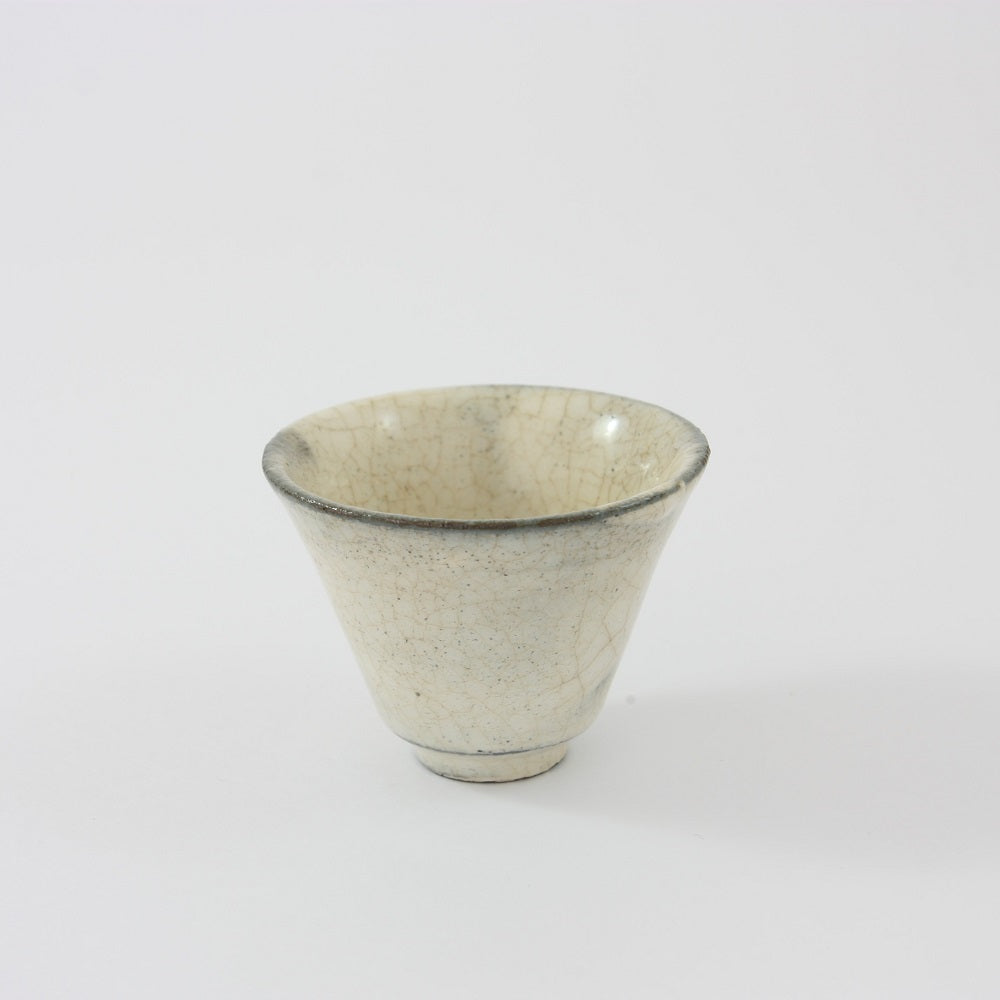 Fine White Korean Tea Cup