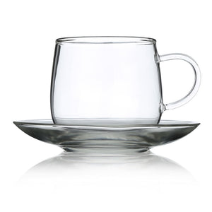 Gifting box of Glass Cup and Saucer