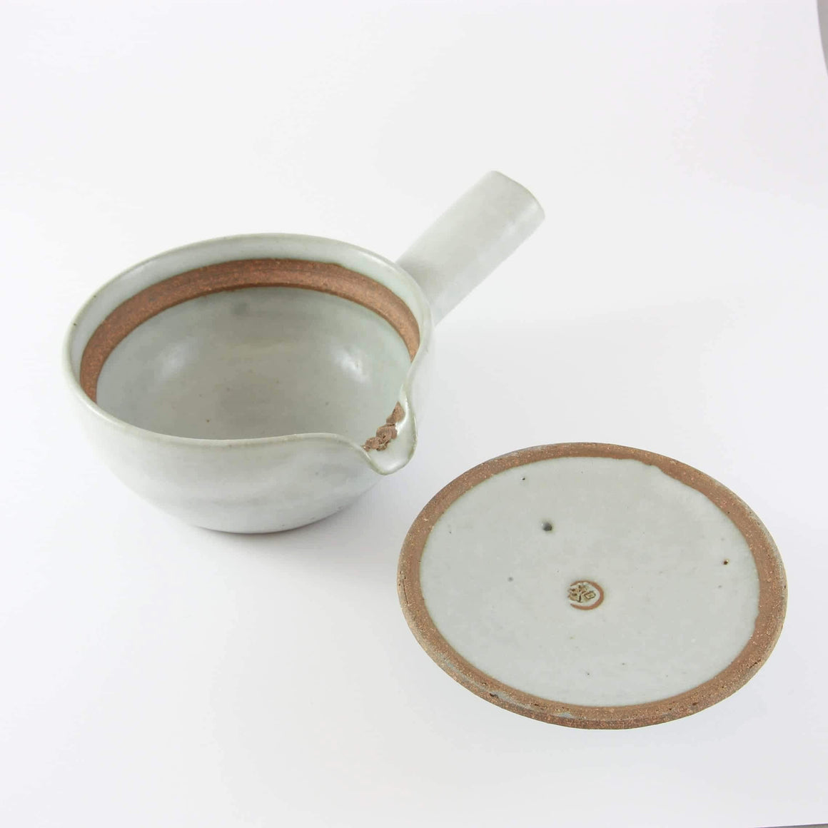 HAND-CRAFTED LIGHT-GREY KYUSHU TEAPOT (300ML) FROM TEA REPERTOIRE