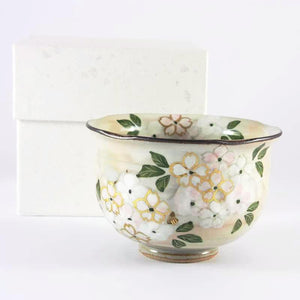 Japanese Cherry Blossom Yunomi Tea Cup from Tea Repertoire