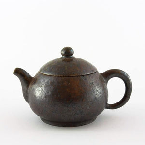 NATURAL ASH GLAZE TEAPOT FROM TEA REPERTOIRE