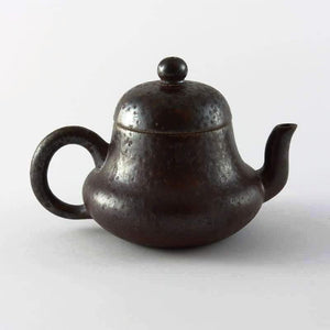 UNGLAZED SI TING PEAR TEAPOT FROM TEA REPERTOIRE