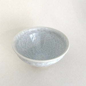White Flower Crystal Matcha Bowl