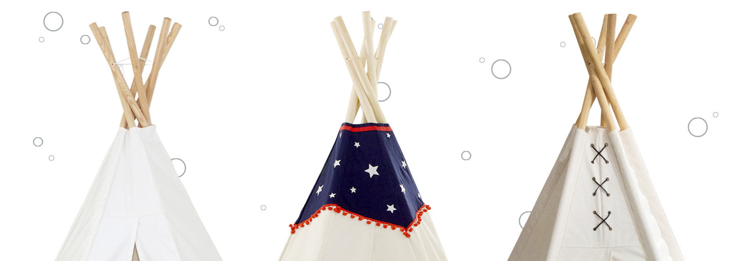 children's teepee playhouses rideon cars pedal cars planter  - dexton kids