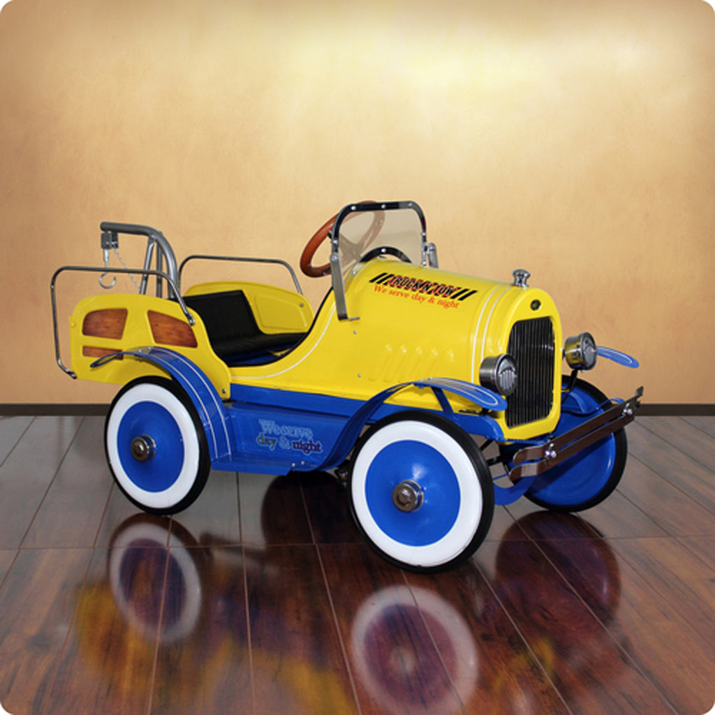Deluxe Tow Truck Roadster Pedal Car