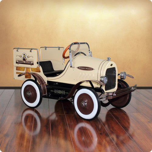 Deluxe Woody Wagon Roadster Pedal Car