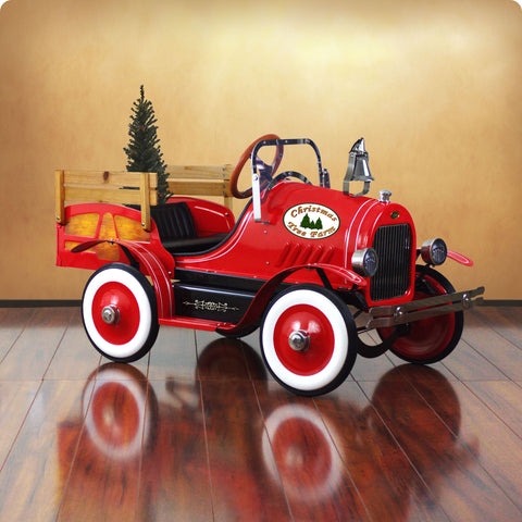 Deluxe Christmas Tree Delivery Truck Pedal Car