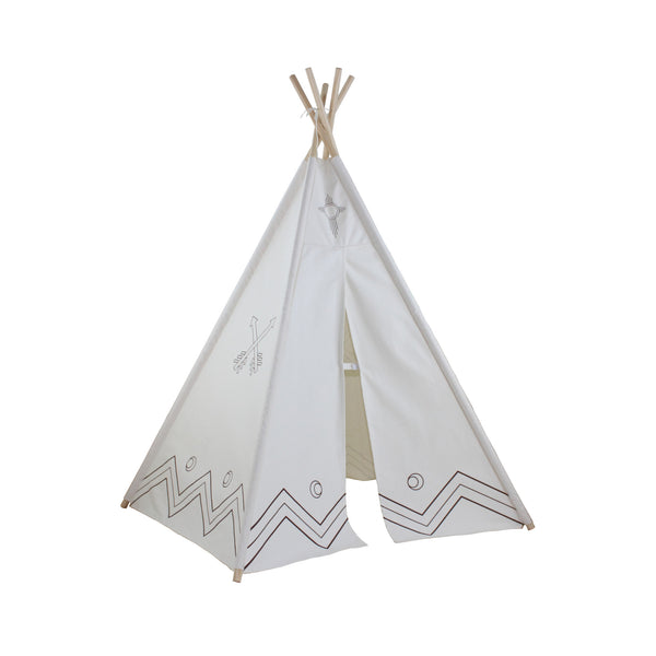 6ft Hideaway Color-My-Own Five Panel Tepee