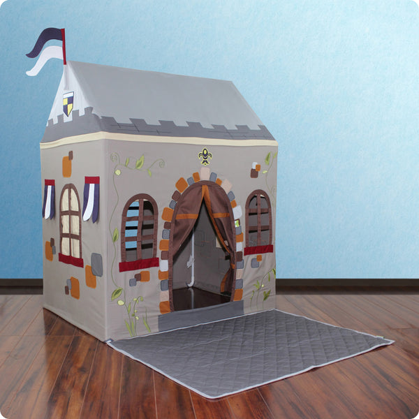 Toadi Castle Playhouse  & Floor Quilt