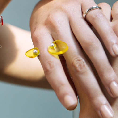 Luminous Lovers Ring  by 1064 Studio | Teel Yes