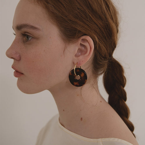 Dune Hoop Earrings by Baebae | Teel Yes