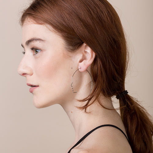 Face Earrings - Teel Yes