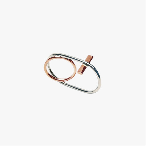 Hula Hoops Double Ring by ESHVI - Teel Yes