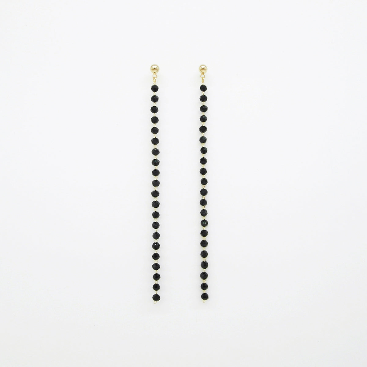 Crystal Bead Earrings by Love Me, Monster | Teel Yes