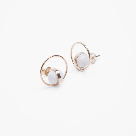 Sugar Pearl Ear Studs