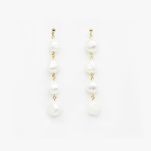 Pearl Drop Earrings by Love Me, Monster | Teel Yes