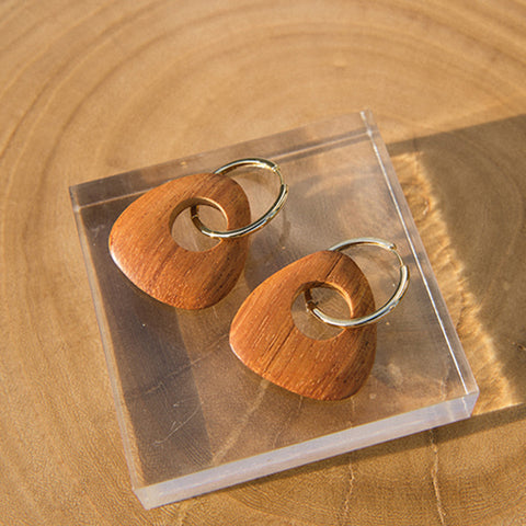 Half Moon Wave Earrings