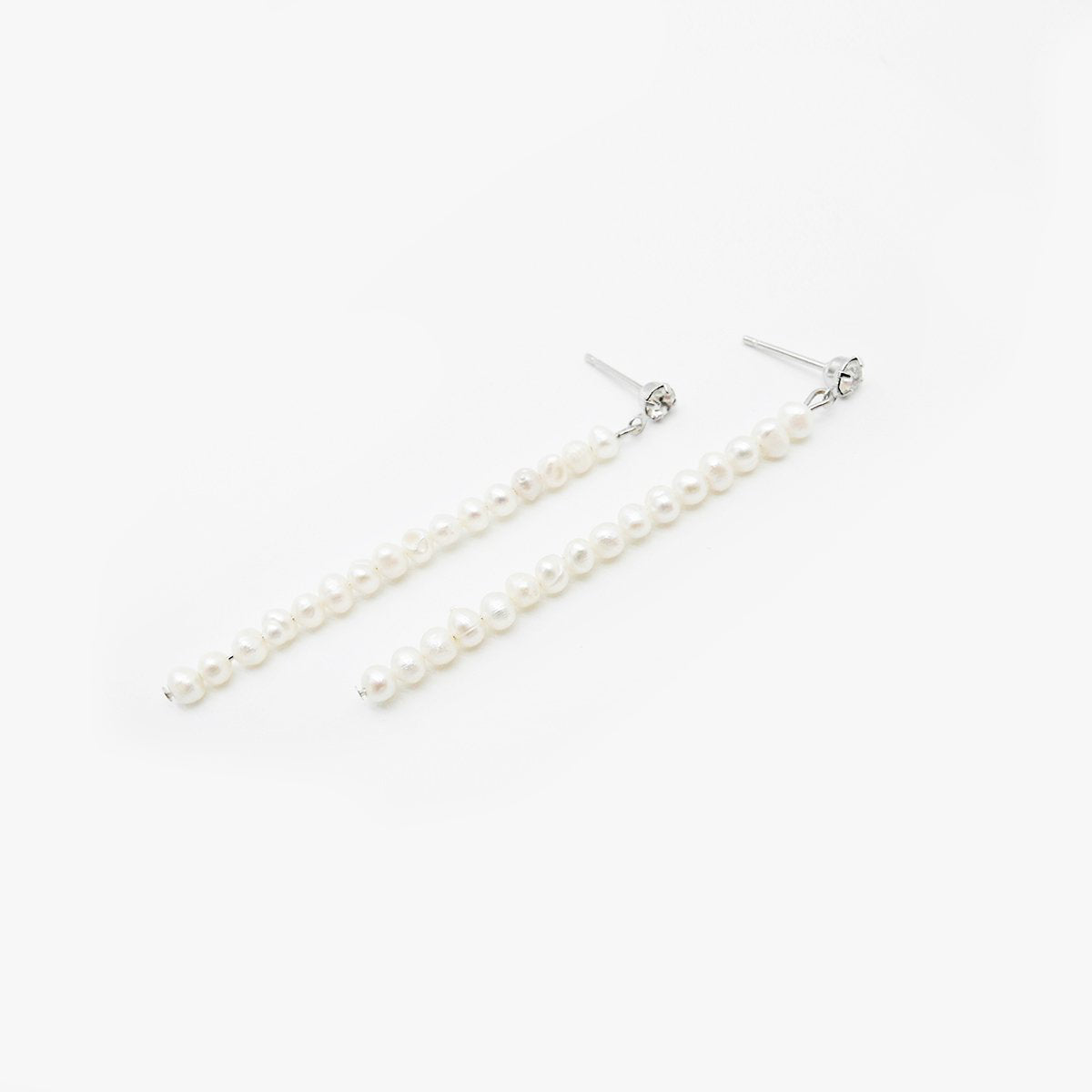 String Pearl Earrings by Love Me, Monster | Teel Yes