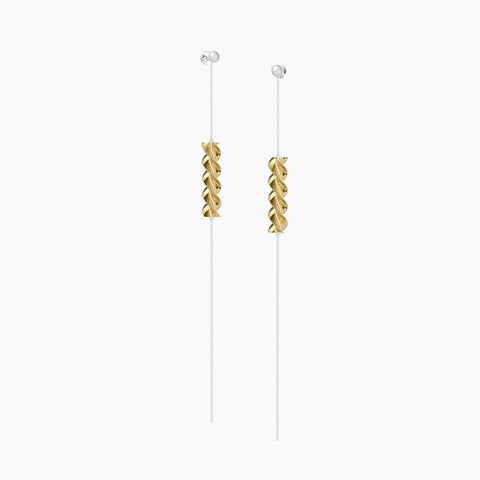 Mini Farfalle Pasta Earrings