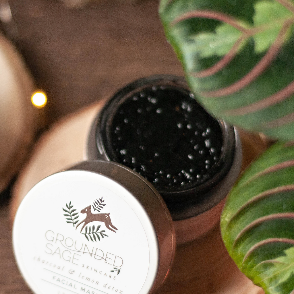 skin detox / activated charcoal / green beauty / skincare products / holistic skincare