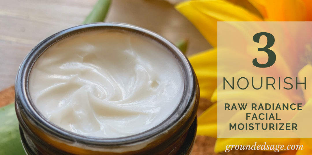 Healthy Face Cream (Facial Moisturizer) for a Clean Skincare Routine for Acne Prone Skin