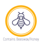 This product contains beeswax or honey