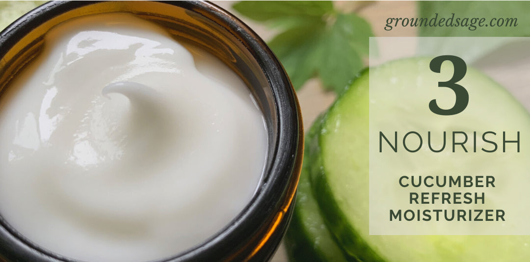 Natural Face Cream for Combination Skin - Clean Combo Skin Care Routine Products