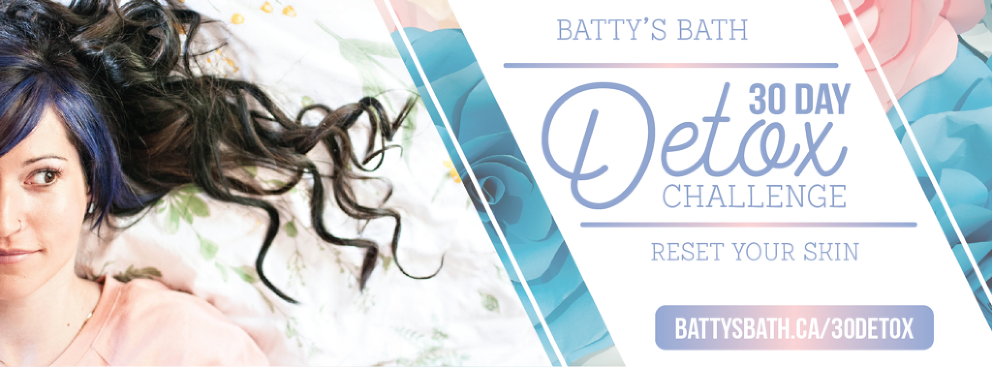 Batty's Bath 30 Day Detox Challenge for Your Skin