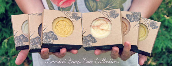Soap Box Collection Ready For Gift Giving