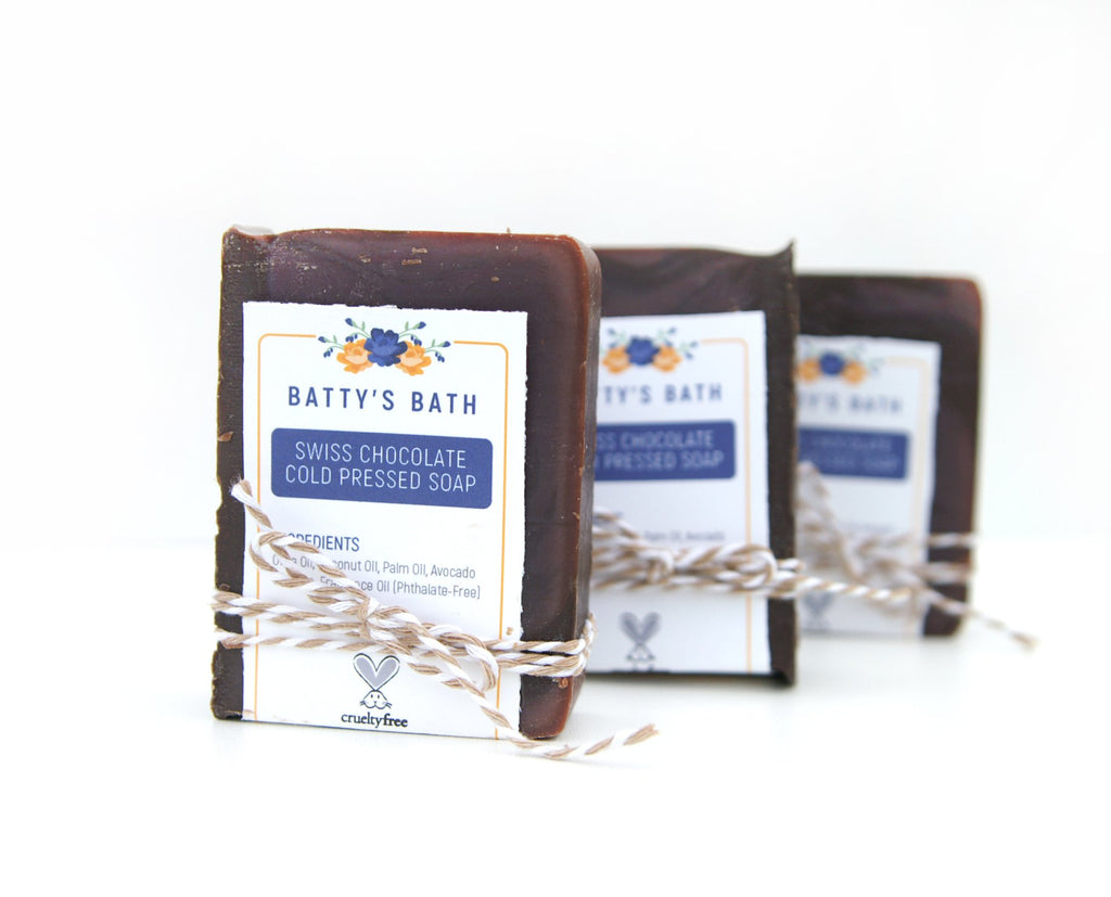 Swiss Chocolate Cold Press Soap Bar