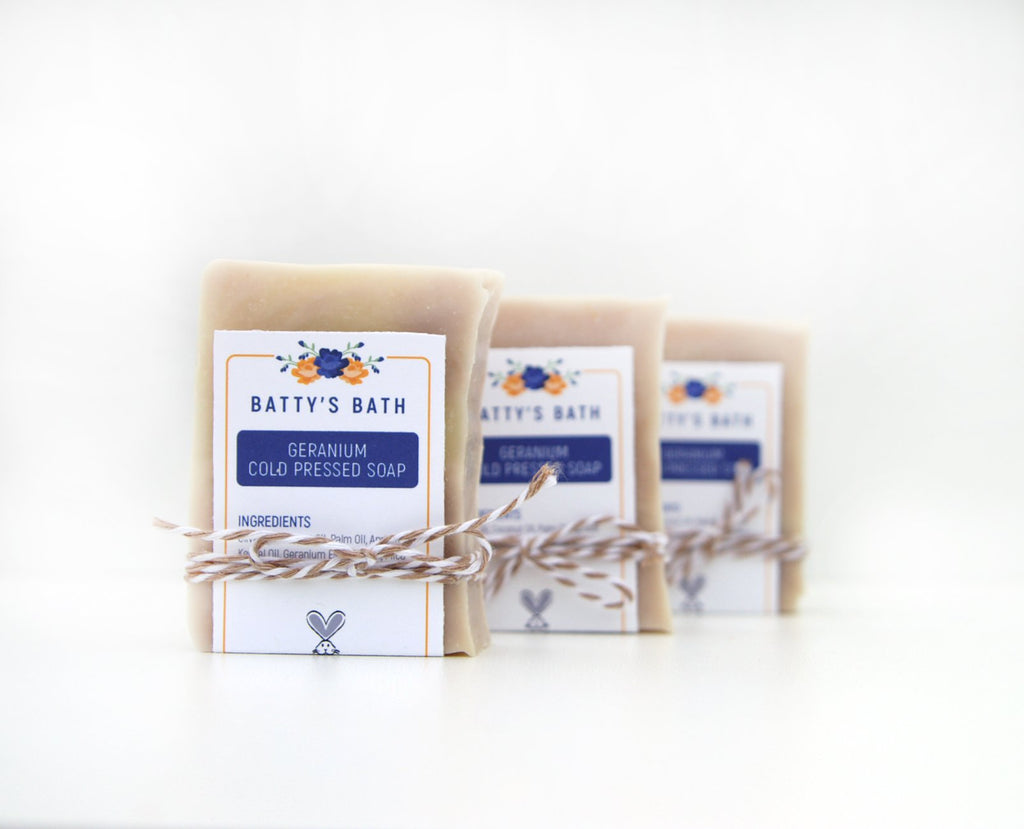 Geranium Cold Press Soap Bar